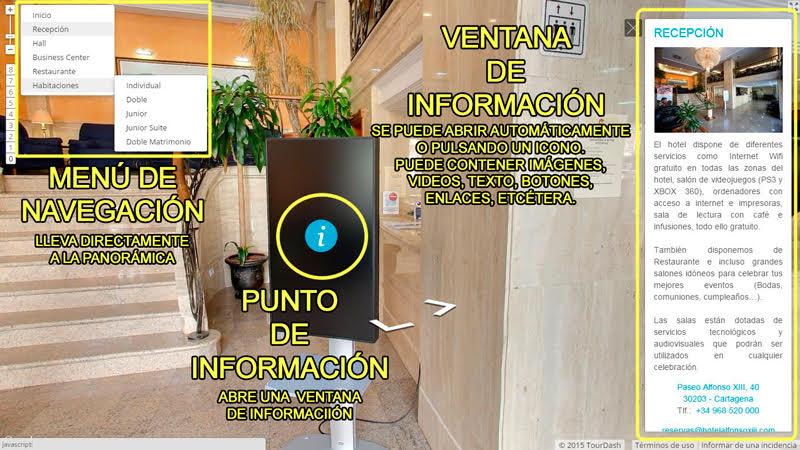 visita virtual interactiva